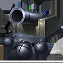 モートラ砲の画像