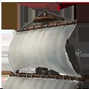 主マスト横帆の画像