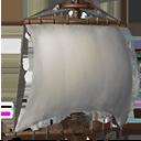 小型横帆の画像