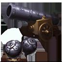 火山砲の画像