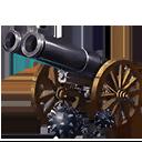 二連キャノン砲の画像