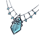氷晶のネックレス