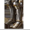 突撃用钣金する足の甲