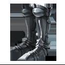 鋼鉄製レッグアーマー