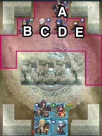 縛鎖の第16迷宮:第3ステージのマップ画像
