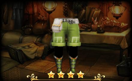 メロディアスパンツ/スカート:緑のメンズ画像