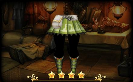 メロディアスパンツ/スカート:緑のレディース画像