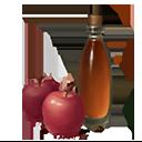 りんご酢の画像
