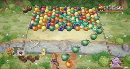 プーさんのミニゲーム画像