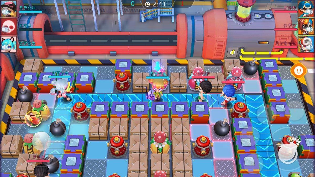 ミラクルボンバー ゲーム画面2
