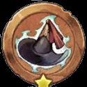 黒魔道士の信念メダルの画像
