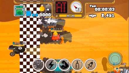 モグモグガンガン ゲーム画面