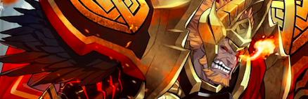 スルト(炎の王)のバナー