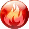 火のアイコン