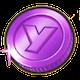 紫コインのアイコン