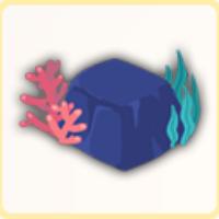 深海の岩の画像