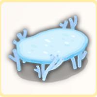 サンゴテーブルの画像