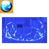 水のオーラの画像