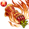 業火覇拳のガントレット(左)の画像