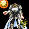 アーサーの鎧のアイコン