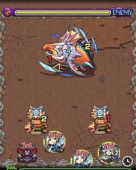 帝王鮭ステージ1攻略