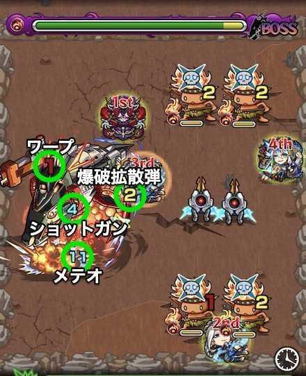 帝王鮭ボスステージ2の攻略