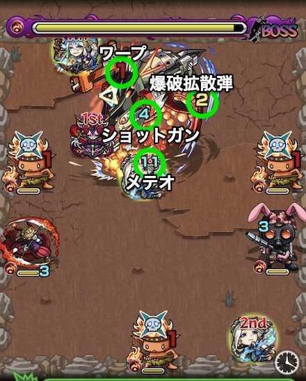 帝王鮭ボスステージ3の攻略