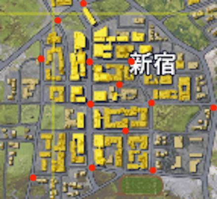 車両新宿マップ 画像