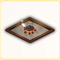 囲炉裏の画像