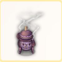 白楼閣の香炉の画像