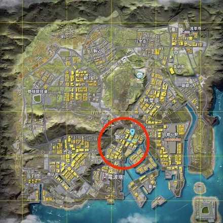 東京マップ 画像