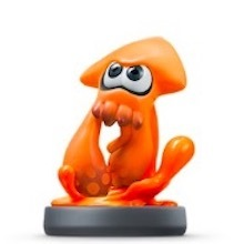 スマブラSPのイカ(オレンジ)のアミーボ