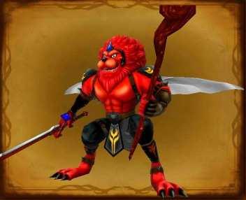職業神レオダーマ赤の画像