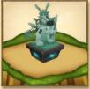 茶熊ツキミの像