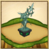 茶熊ハルカの像