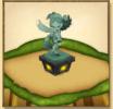 茶熊マールの像