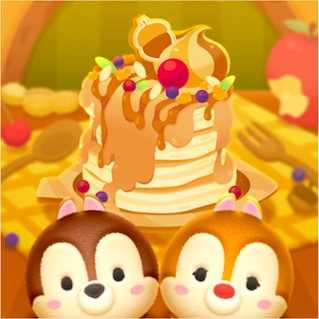 チップとデールのパンケーキ