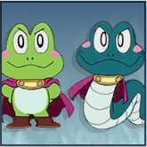 スマブラSPのカエル&ヘビ