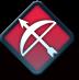 FEヒーローズの赤弓装備アイコン