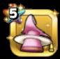 ウララの帽子