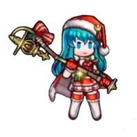 クリスマスエイリークのミニキャラ