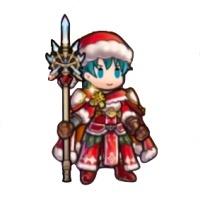 クリスマスエフラムのミニキャラ