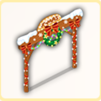 クリスマスゲートの画像