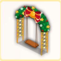 クリスマスブランコの画像