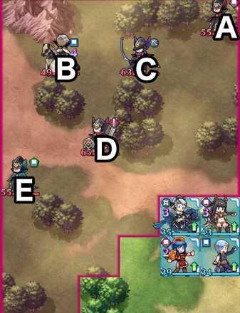 縛鎖の第17迷宮:第3ステージのマップ画像