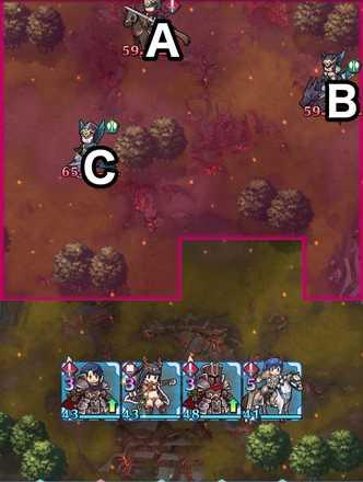 縛鎖の第17迷宮:第4ステージのマップ画像