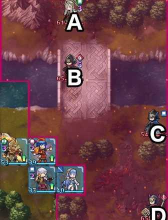 縛鎖の第17迷宮:第5ステージのマップ画像