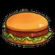 [ハンバーガーのアイコン