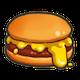 [チーズバーガーのアイコン