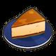 [チーズケーキのアイコン